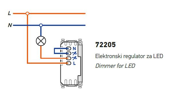 Dimmer for LED